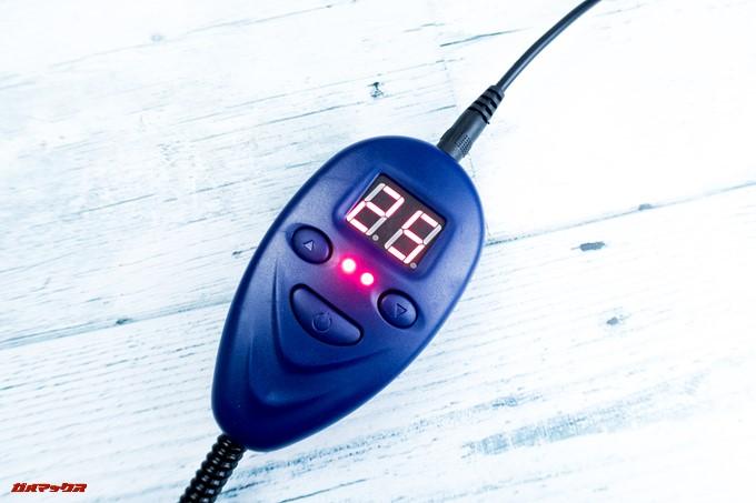 ペット用ホットカーペットは7段階の温度から設定可能です