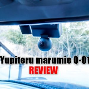 ユピテル「marumie Q-01」の実機レビュー!720°全方位録画の全天球ドラレコ