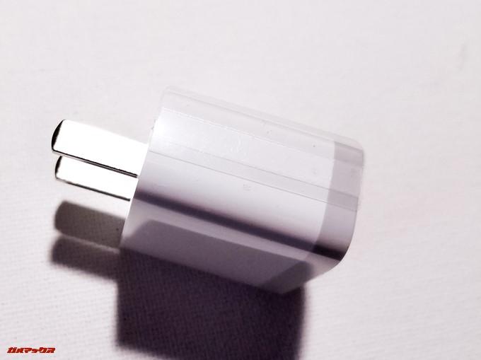 Xiaomi Mi 5Xには日本で利用できる充電器が入っています