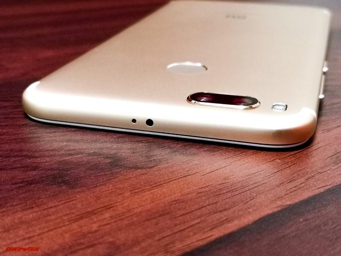 Xiaomi Mi 5Xの本体上部には赤外線センサーも備わっています。
