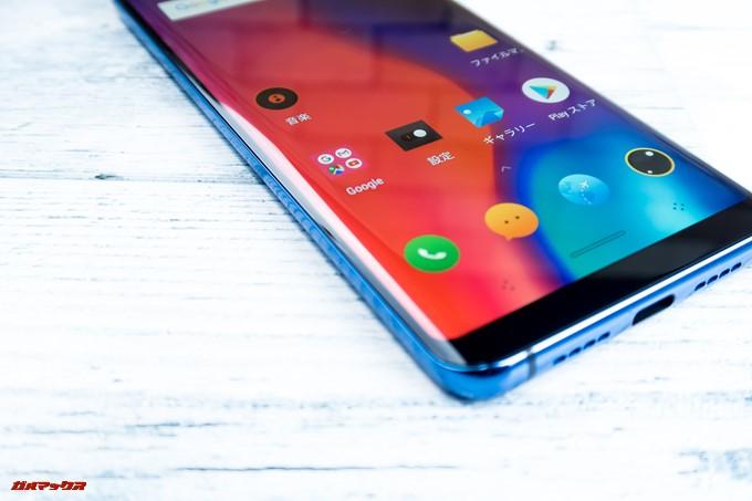 Elephone U Proはエッジディスプレイを採用しています