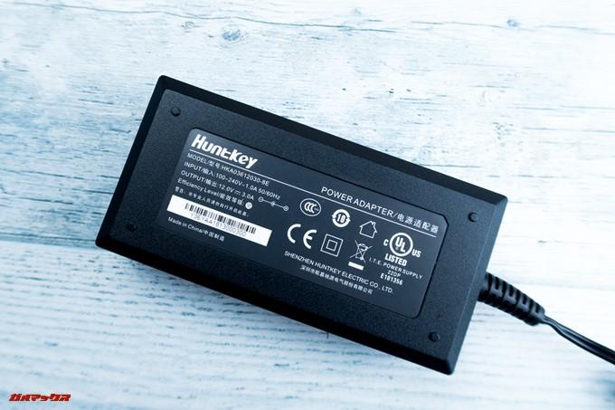 JMGO M6 Portable DLP Projectorに付属のACアダプターは世界で利用できる仕様です