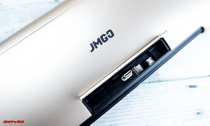 JMGO M6 Portable DLP Projector本体の端子をUSB-Cに変えました