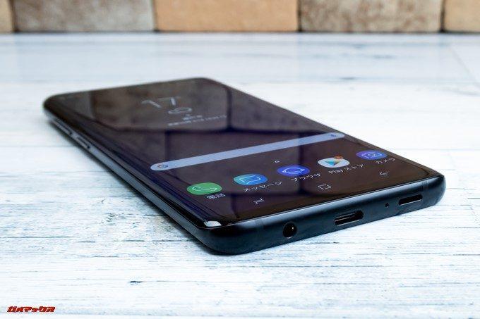 Galaxy S9とS9+はUSB Type-Cを搭載しています。