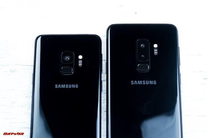 Galaxy S9はシングルカメラ、9+はダブルレンズカメラを搭載しています。