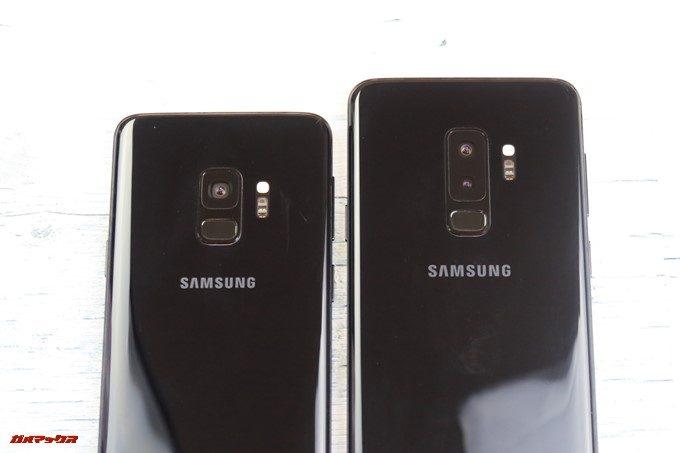 Galaxy S9+はダブルレンズカメラを搭載している