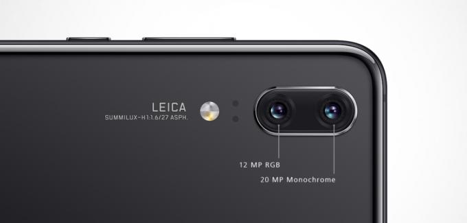 HUAWEI P20はLEICAダブルカメラを搭載