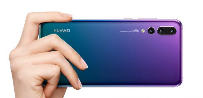 HUAWEI P20 Pro/P20は横持ちに最適なカメラ位置となっています。