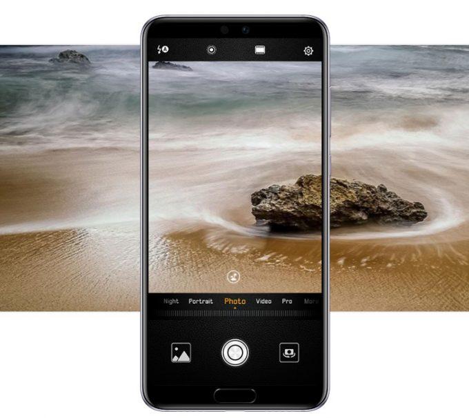 HUAWEI P20 Pro/P20はAIがカメラ設定を自動選択してくれるので誰でもプロ並みの写真が撮影出来ます。