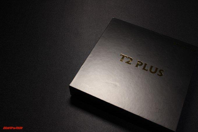VKworld T2 Plusの外箱はブラックのカッコイイ外箱