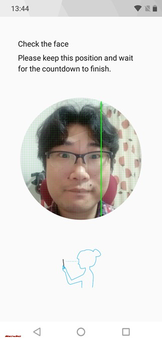 Oukitel U18は顔認証を利用できます。