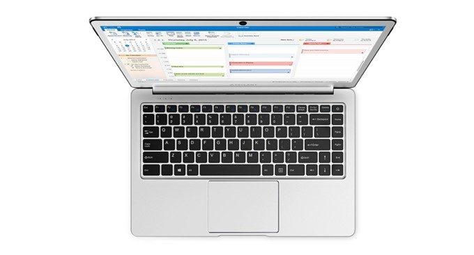 Teclast F7のキーボードはUS配列となっています。