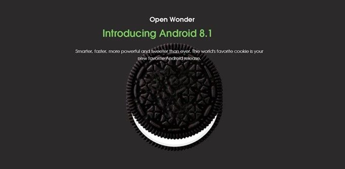 Elephone A4はAndroid 8.1を採用