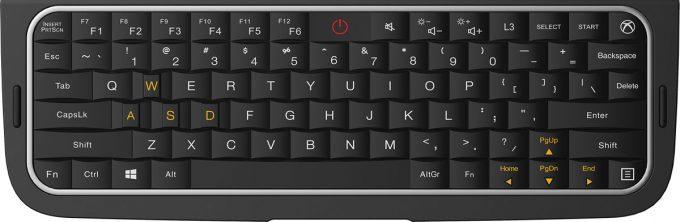 GPD WIN 2はキーボードを備えており打ちやすいフルタイプが採用されています。いつでもチャットに返事を書くことが可能です。