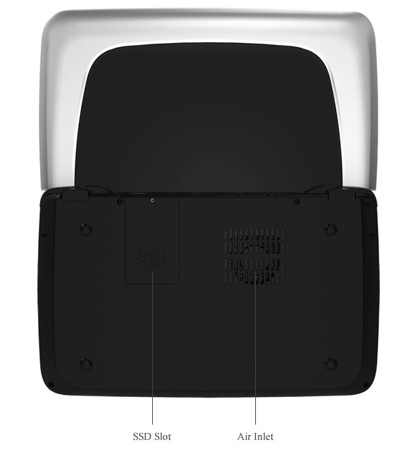 GPD WIN 2のSSDは換装可能となっており、簡単に容量を拡張することが可能です。