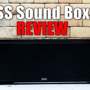 Echo Dotユーザーに最適!DOSS Sound Box XLスピーカーのレビュー!