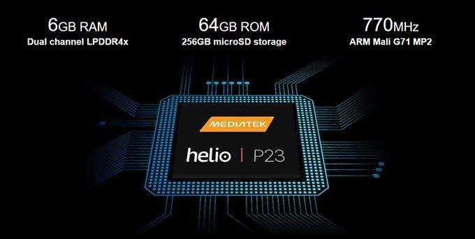UMIDIGI Z2はP23、メモリ6GB、保存容量64GBで300$以下の高コスパスマホ!