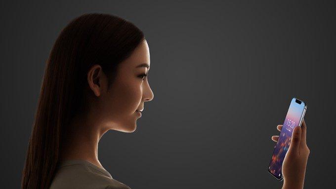 UMIDIGI Z2は顔認証に対応しています。