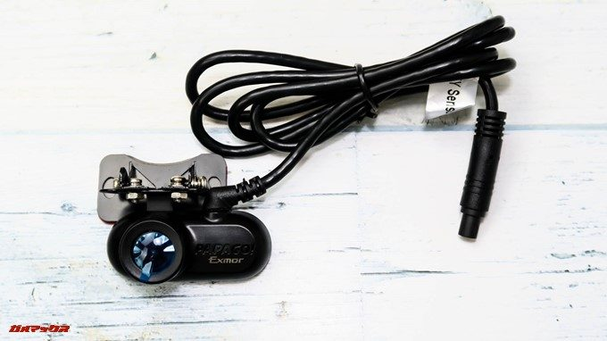 GoSafe S36G1のバックカメラ