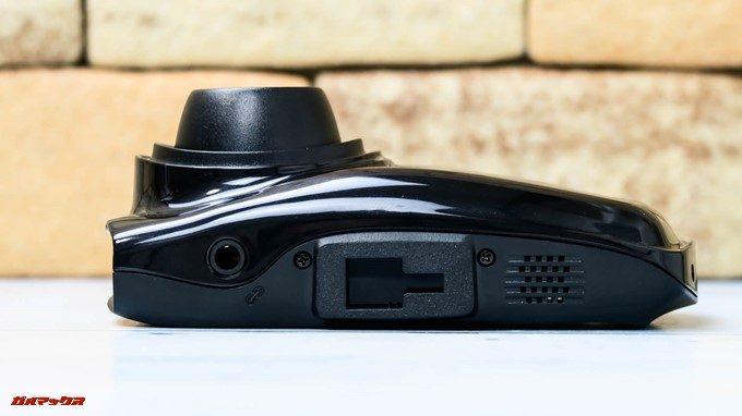 GoSafe S36G1の本体上部にはブラケットを簡単に固定できる穴が備わっています。