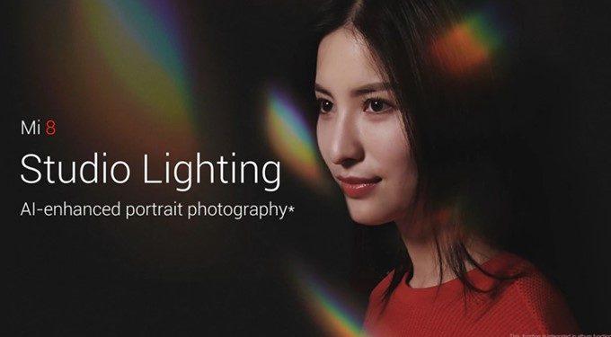 Xiaomi Mi 8のスタジオライディング機能でプロ並みの照明効果を得ることが簡単に出来ます。これもAIのお陰