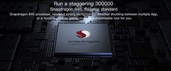 Xiaomi Mi 8はSnapdragon 845を搭載