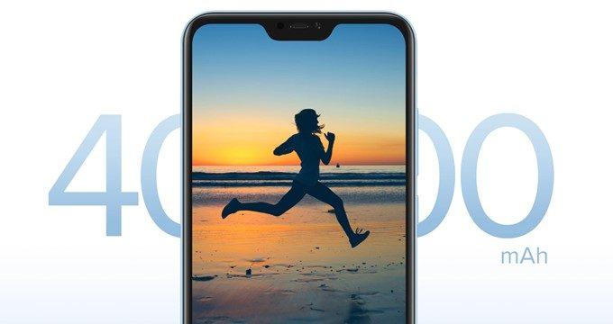 Xiaomi Mi A2 Liteは大容量な4000mAhバッテリーを搭載しています!