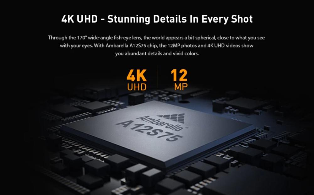 Alfawise V50 Proは4K30FPSでの撮影に対応!