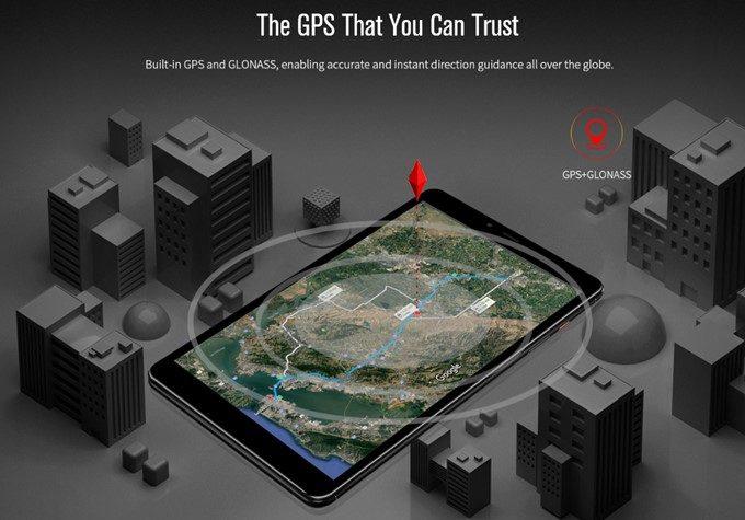 CHUWI Hi9 ProはGPSを搭載しているので位置把握能力が高いです。カーナビ用途でもオススメ。