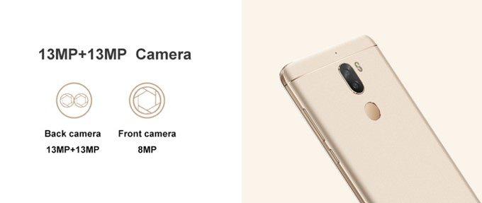 Coolpad Cool Play 6はデュアルカメラを搭載。1300万画素×2で背景をボカした撮影も非常に得意