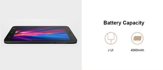 Coolpad Cool Play 6は4060mAhの大容量バッテリーを搭載。長時間駆動が期待できます。