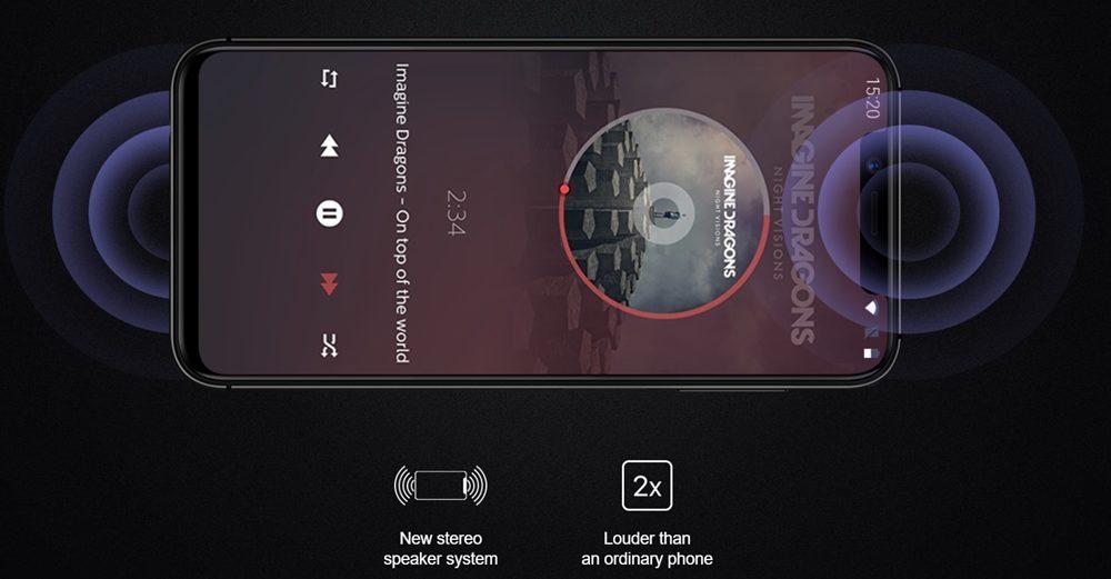 [UMIDIGI One]と[UMIDIGI One Pro]は嬉しいステレオスピーカー仕様です。