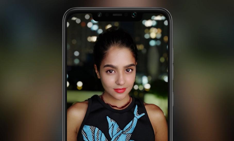 Xiaomi Poco F1はインカメラにもAIを搭載。スタジオ品質の画質で美しい背景ボケのある写真を自然なスタイルで撮影可能となっています。