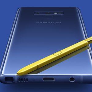 Galaxy Note9(Exynos 9810)の実機AnTuTuベンチマークスコア