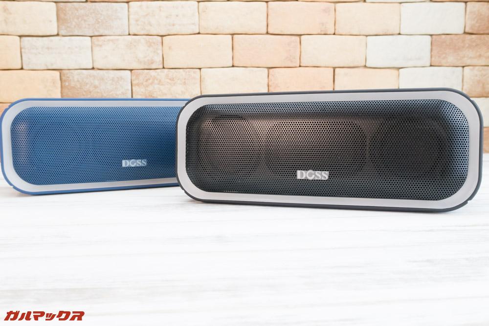DOSS SoundBox Proはブルー以外にブラックも選択可能