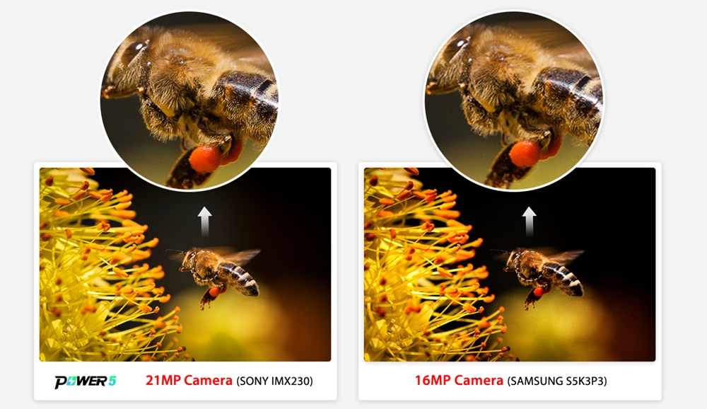 Ulefone Power 5のカメラは高画素なので細かい部分も描写可能となっています。