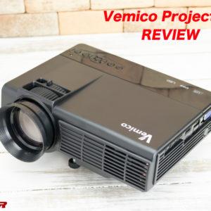 Vemico製プロジェクターのレビュー!安価で入門用として最適!