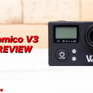 Vemico V3のレビュー!付属品が豪華なアクションカメラ入門機!