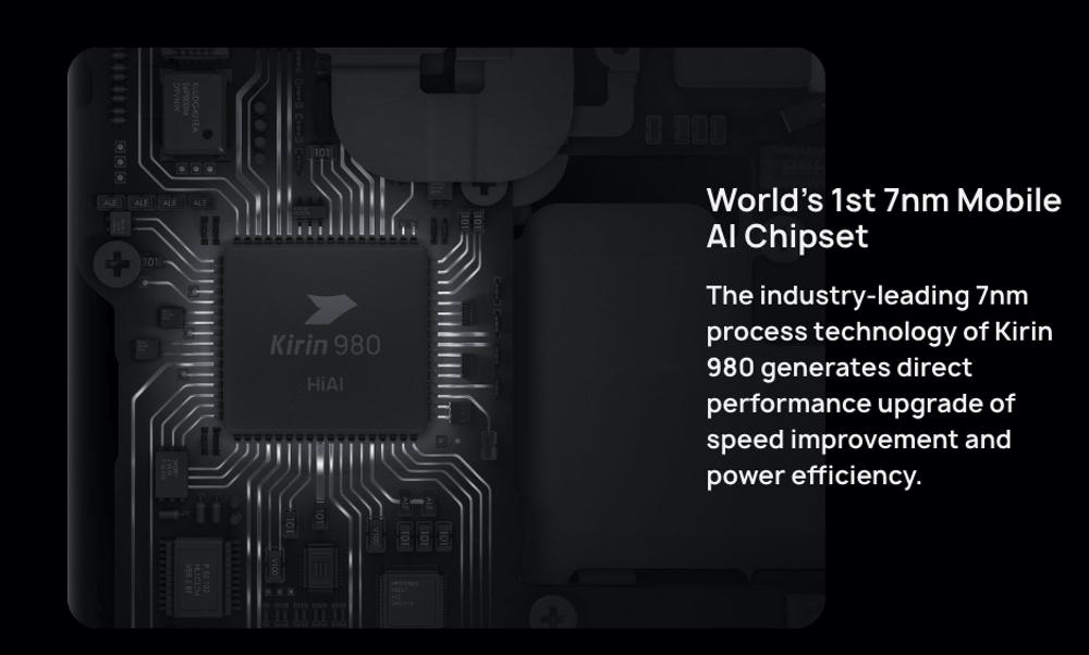HUAWEI Mate 20 ProはハイエンドSoCのKirin 980を搭載