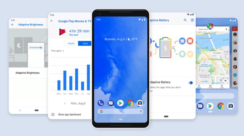 「Pixel 3」と「Pixel 3 XL」はGoogleの最新OSであるAndroid 9 Pieが利用できます。