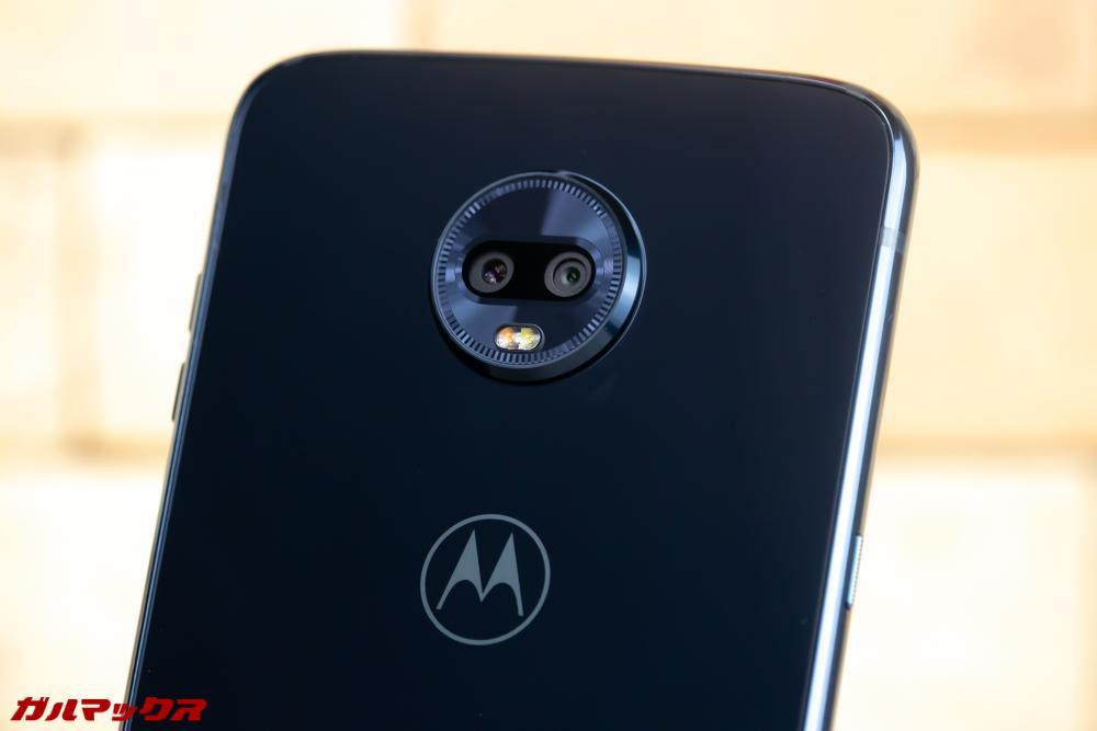 Moto Z3 Playはデュアルカメラを搭載。