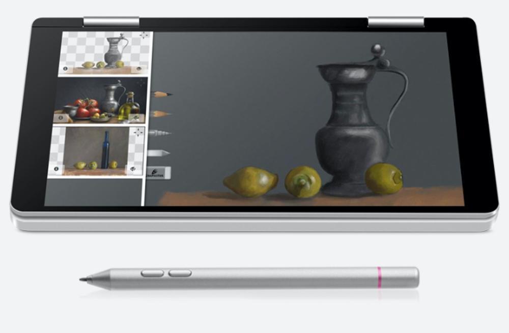 One Netbook One Mix 2はスタイラスペンがあると手書き入力が出来るので便利