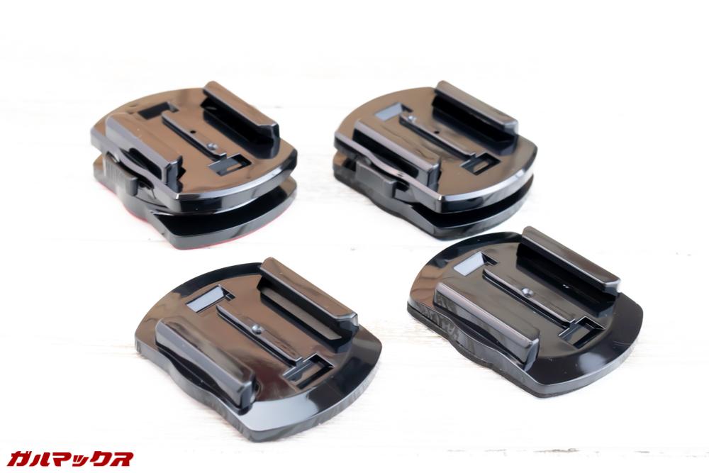 SJ8 PLUSは専用台座が4つ付属しています。