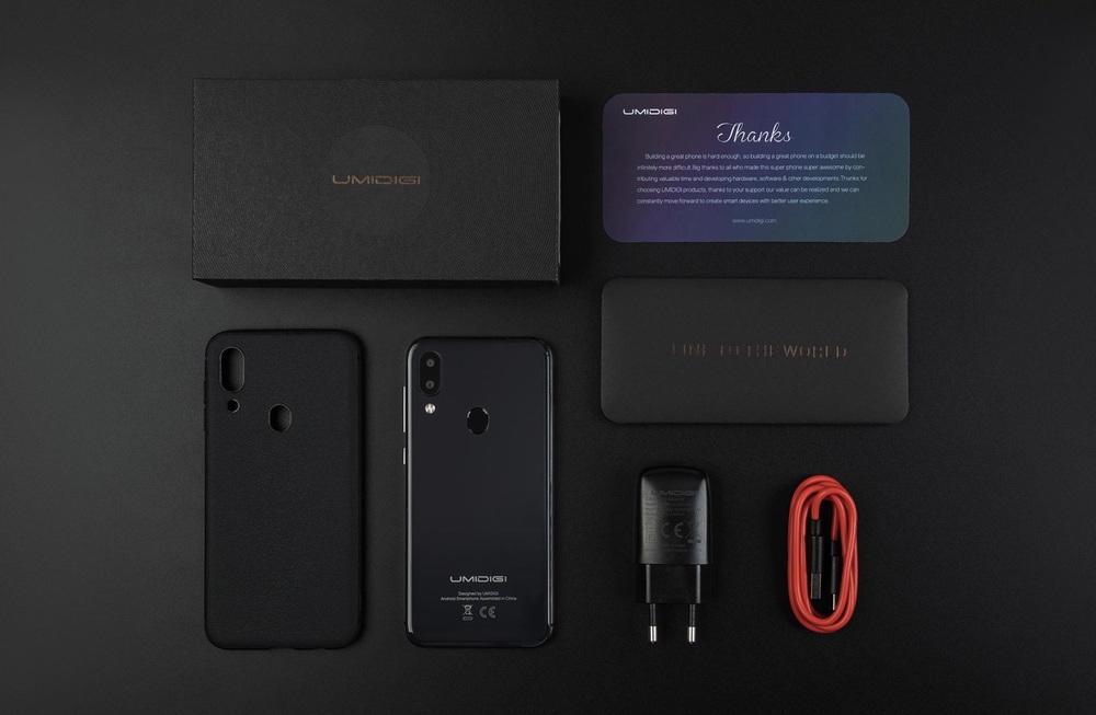 UMIDIGI A3は安価ですがケースが付属するなど同梱内容は豪華