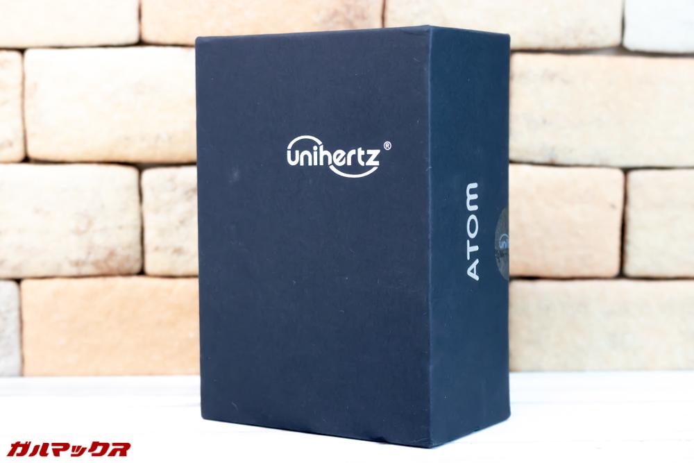 Unihertz Atomの外箱はブラック