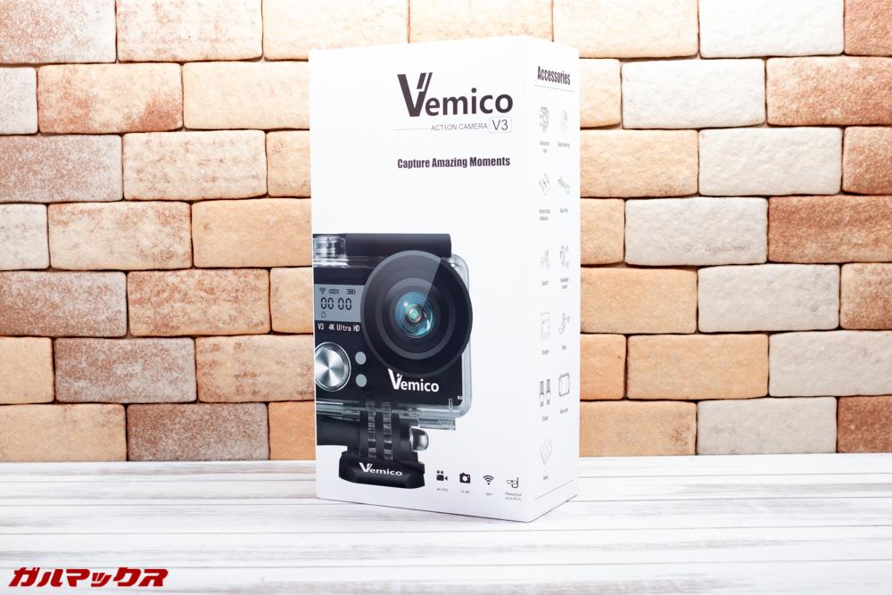 Vemico V3は美しい化粧箱に入って届きました!