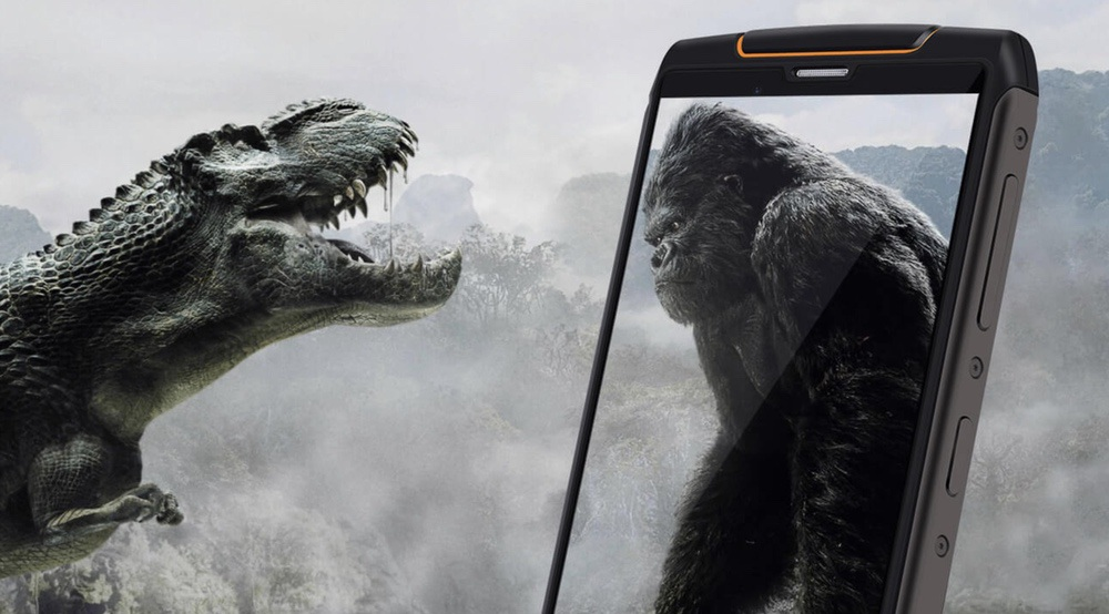 CUBOT King Kong 3はgorilla Glassを搭載!