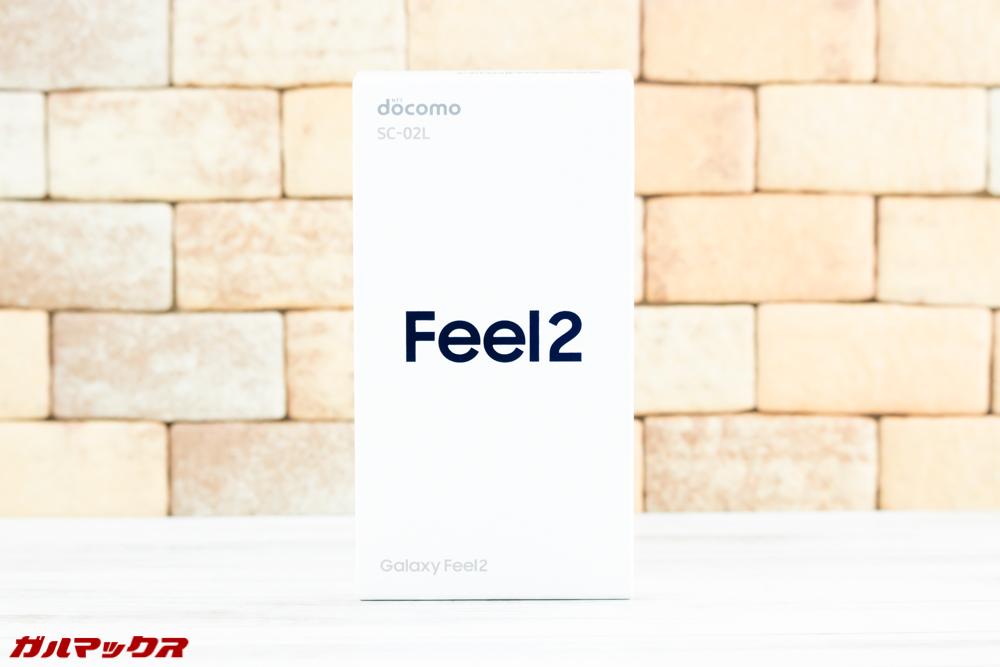 Galaxy Feel2(SC-02L)の外箱はホワイトボックス