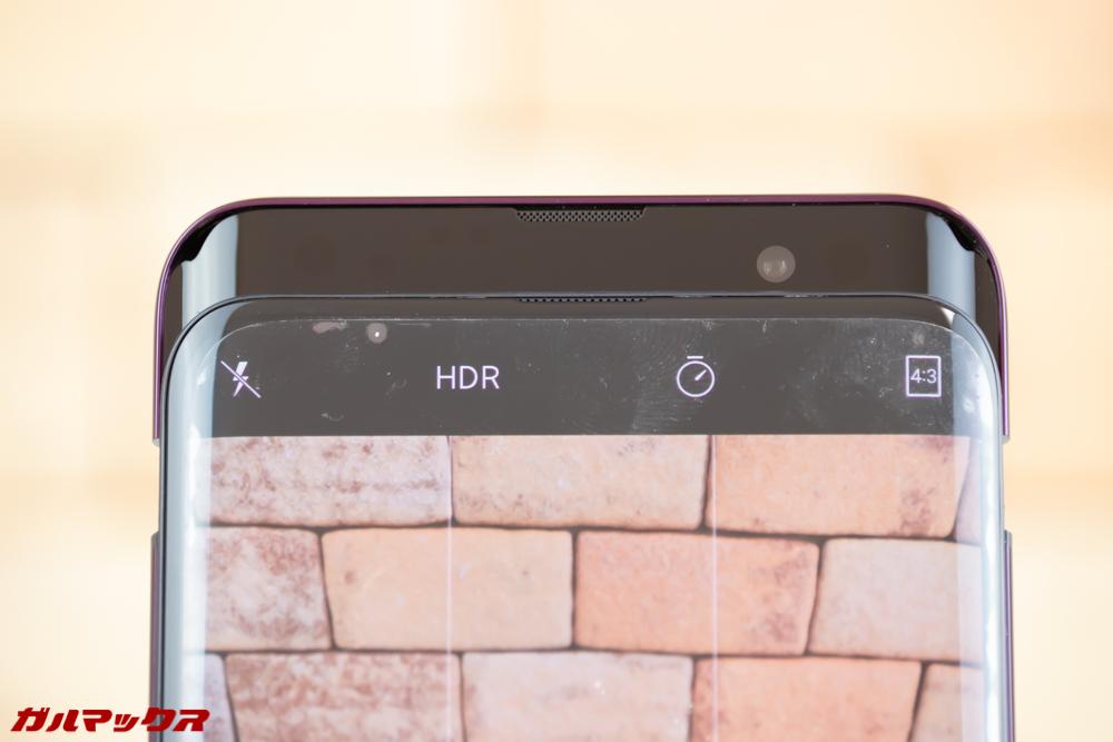 OPPO Find Xのリフトアップカメラにはインカメラが備わっています。