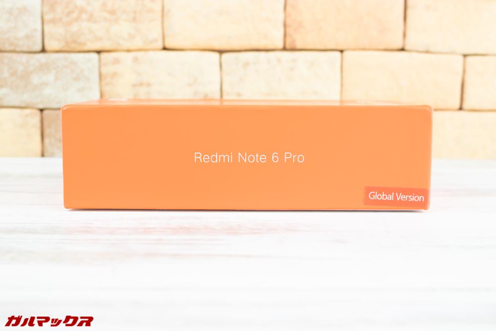 届いたXiaomi Redmi Note 6 Proは日本語対応のGlobalモデル